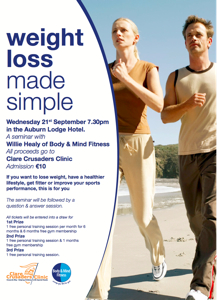 Weight Loss Made Simple - Body and Mind Fitness Seminar